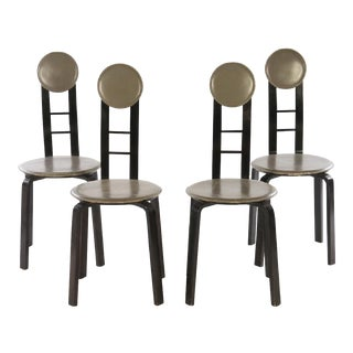 Mid-Century Italian Dining Chairs - Set of 4