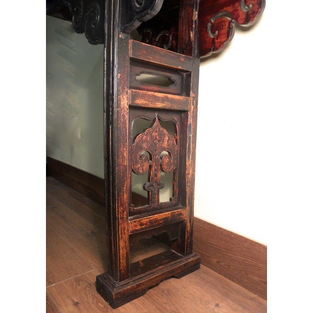 19th-Century Chinese Altar Table - Image 6 of 10