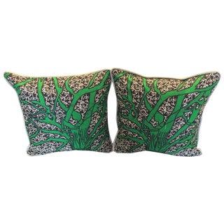 African Wax Pillows - Pair