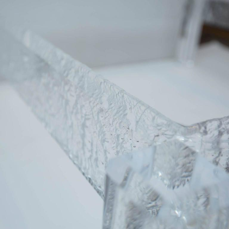 Large Custom Lucite Coffee Table Base   Image 5 Of 10