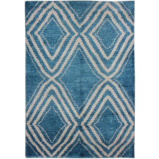 "Hand Knotted Bamboo Rug - 7'0"" X 5'0"""
