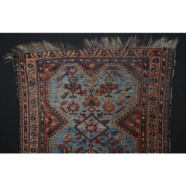 Antique Persian Khamseh Tribal Rug - 2′8″ × 3′9″ - Image 3 of 7
