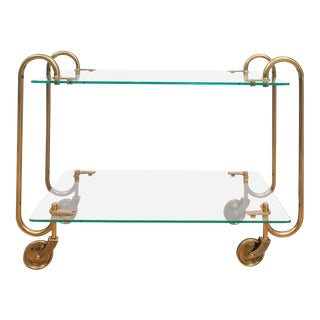 Fontana Arte Brass Bar Cart