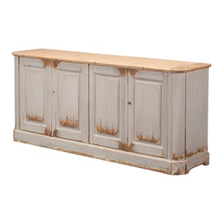Sarreid Ltd Antique Grey Washed Sideboard