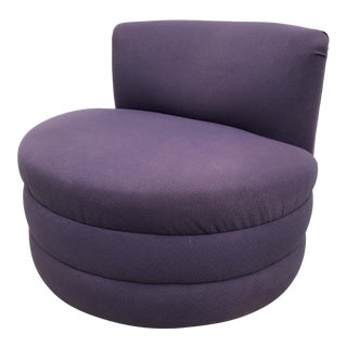Modern Upholstered Swivel Chair