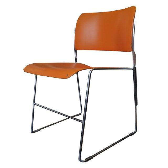 Orange David Rowland 40/4 Chairs - 4 - Image 2 of 7
