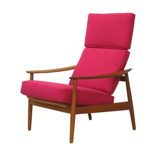 Danish Teak Lounge Chair Arne Vodder France & Son