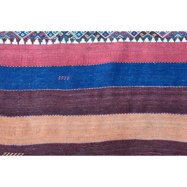 Fantastic Color Antique Turkish Malatya Kilim Rug - 6' 3'' x 3' 3'' - Image 8 of 10