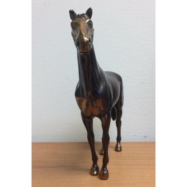 Vintage Copper Horse Statue - Image 7 of 8