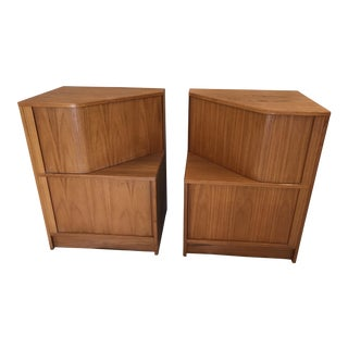 Hundevad Teak Nightstands - A Pair