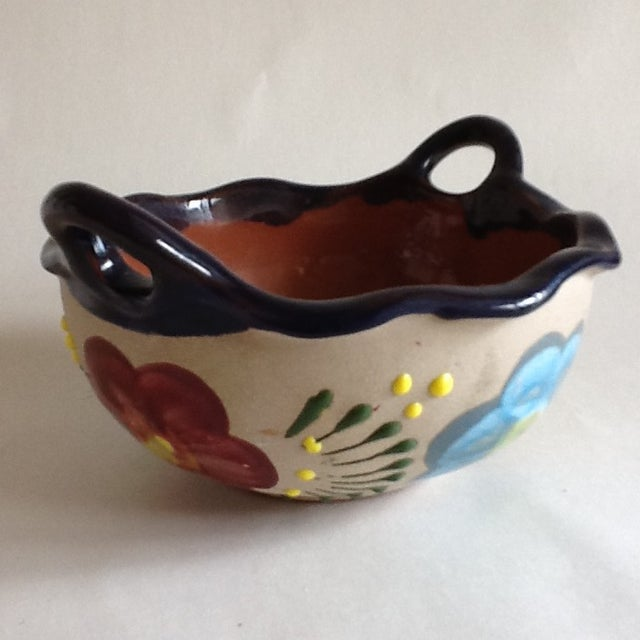 Vintage Handmade Pottery Bowl - Image 3 of 9