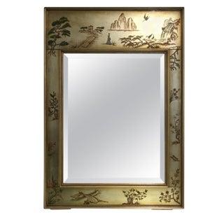 La Barge Chinoiserie Motif Mirror