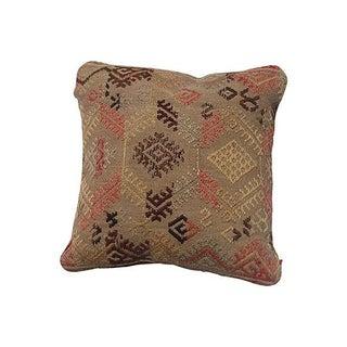Natural Kilim Rug Pillow