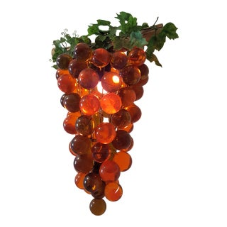 Mid-Century Grape Cluster Light