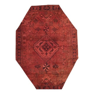 "Apadana - Vintage Overdyed Rug, 7' x 9'7"""