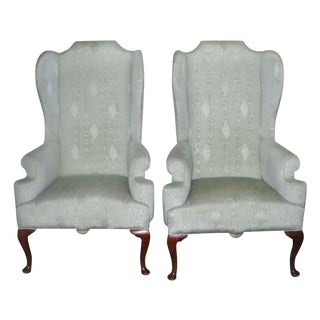 Georgian Wingback Chairs - A Pair