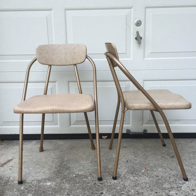 Mid-Century Stylaire Folding Chair - Set of 3 - Image 6 of 11