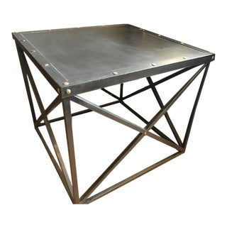 Lillian August Tomas Metal Table