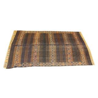 """Antique Persian Kilim Area Rug - 5'9"""" - 10'3"""""""