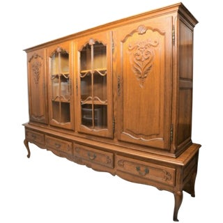 Solid Wood French Hutch