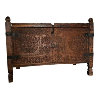 Rustic Indonesian Storage Trunk
