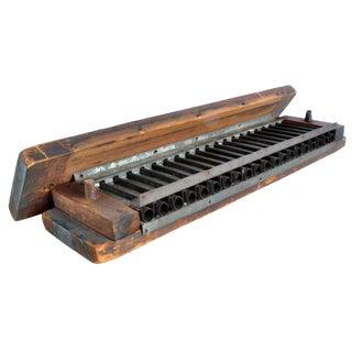 Vintage Cigar Molding Tool