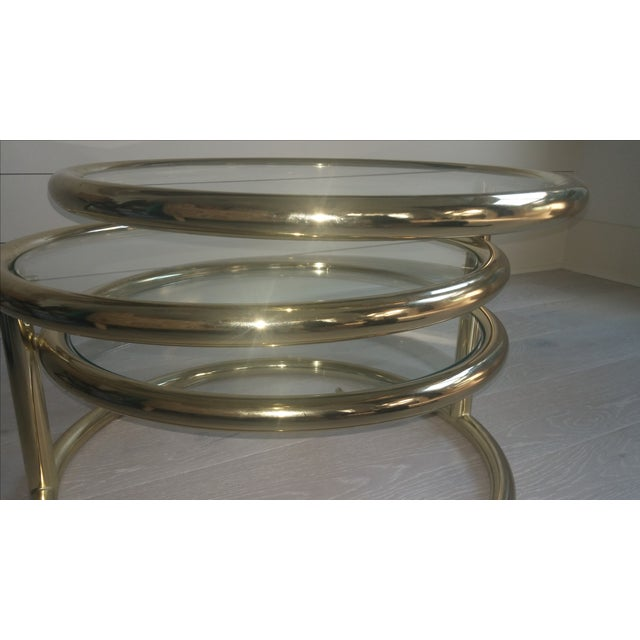 Coffee Table With Swivel: Double Swivel Coffee Table