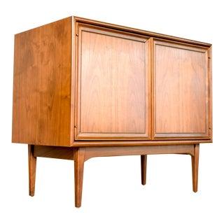 Mid Century Kipp Stewart Drexel Declaration Record Album Cabinet