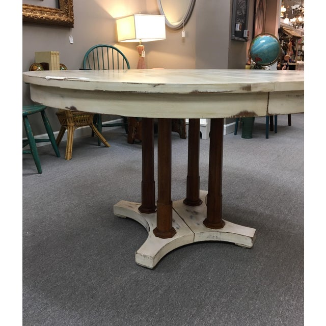Expandable Round Farm Table - Image 5 of 6