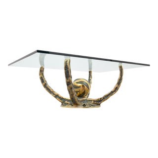 Henri Fernandez Bronze Coffee Table