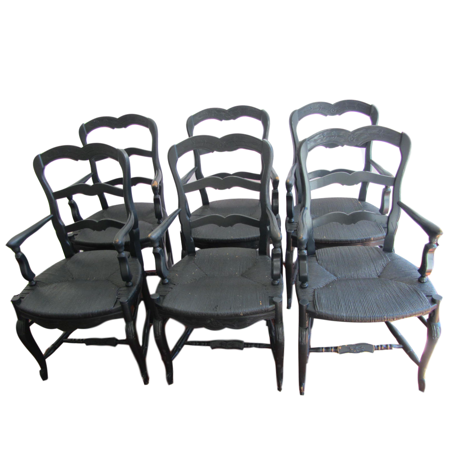 Provencal Black French Dining Chairs Set of 6 Chairish : 661a41db ed78 4c9c 846b 240b22b78eefaspectfitampwidth640ampheight640 from www.chairish.com size 640 x 640 jpeg 42kB