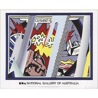 Roy Lichtenstein, Reflections on Crash, 2013 Poster