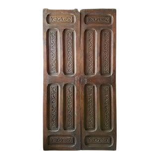 Moroccan Wooden Door