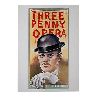 Vintage Poster Lithograph - Paul Davis