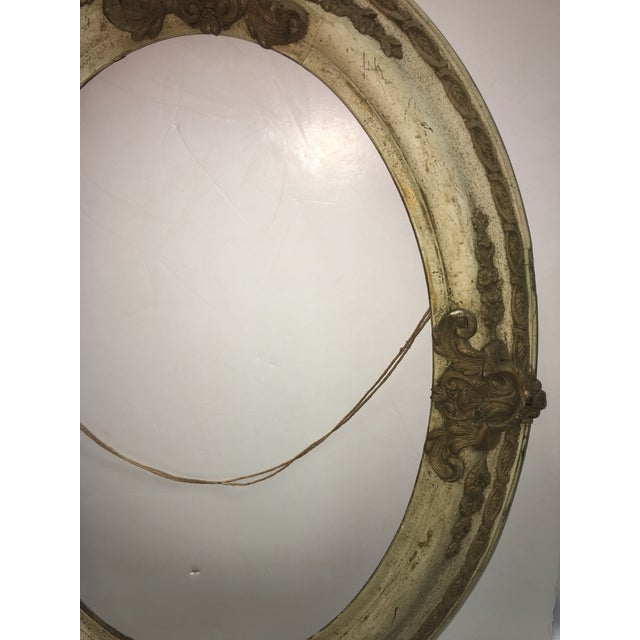 Victorian Wood & Gesso Oval Frame - Image 5 of 7