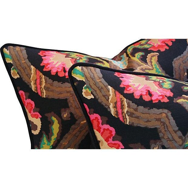 Ralph Lauren Cadiz Mohair Pillows - A Pair - Image 4 of 7