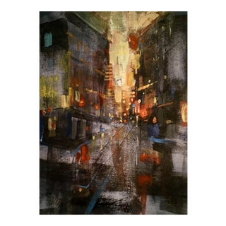 """City Heat"" Original Watercolor Painting"