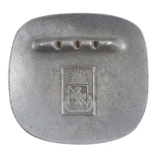 Walter Reed Institute Nursing Pewter Ashtray
