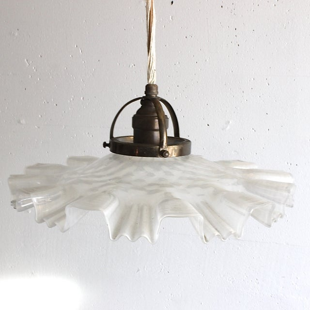 Image of Antique Iron Pully Pendant Light