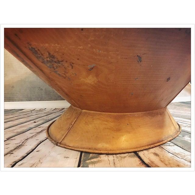 Antique French Zinc Bathtub - Image 11 of 11