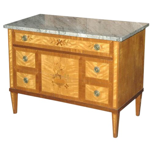Marquetry Inlaid Commode / Chest of Drawers - Image 1 of 5