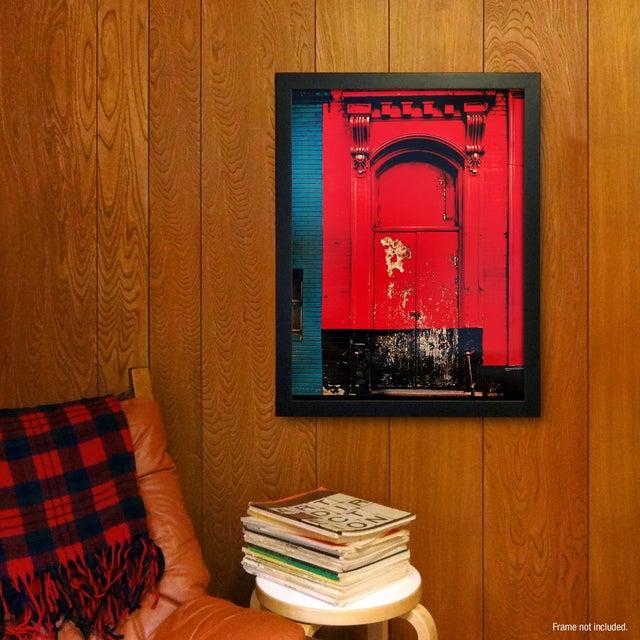 """""""Red Door"""" Poster by Sheldon Brody - Image 2 of 2"""