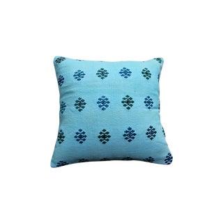Blue Pillow Overdyed Pillow
