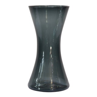 Wayne Husted for Blenko Charcoal 'Sheaf' Vase Model 5519-M