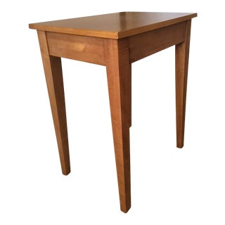 Ethan Allen Country Wheat Side Table