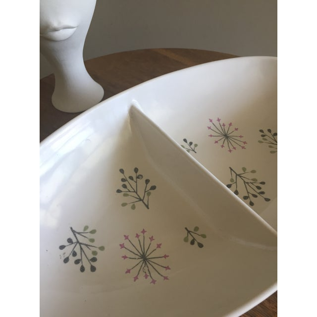 """Franciscan Ware """"Echo"""" Pattern Serving Dish - Image 4 of 4"""