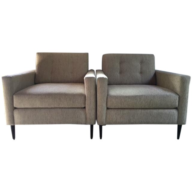 Lazar Industries Club Chairs- A Pair - Image 1 of 7