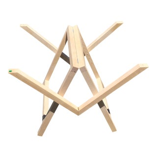 Modern Contemporary Designer Wood Trestle Table