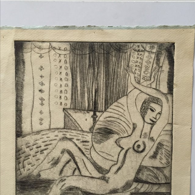 """Lithograph """"Renee"""" by S.Szabo - Image 9 of 10"""