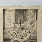 """Image of Lithograph """"Renee"""" by S.Szabo"""